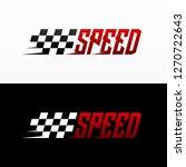 fast speed logo designs concept ... | Shutterstock .eps vector #1270722643