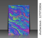 abstract fluid creative... | Shutterstock . vector #1270733836