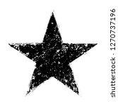 grunge star.distressed star... | Shutterstock .eps vector #1270737196