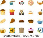 color flat icon set  ...   Shutterstock .eps vector #1270752709
