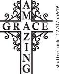 amazing grace logo | Shutterstock .eps vector #1270755649