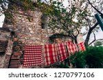 traditional towels near 2....   Shutterstock . vector #1270797106