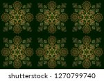 new year 2018 holiday... | Shutterstock . vector #1270799740