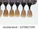 dental vita shade guide...   Shutterstock . vector #1270817290