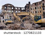 Urban Scene. Dismantling Of A...