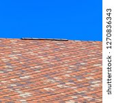 roof from multi colored... | Shutterstock . vector #1270836343