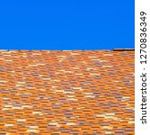 roof from multi colored... | Shutterstock . vector #1270836349
