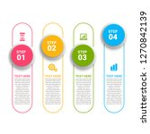 modern infographic choice... | Shutterstock .eps vector #1270842139
