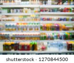 blurred image of healthy... | Shutterstock . vector #1270844500