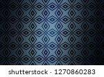 dark blue vector texture in... | Shutterstock .eps vector #1270860283