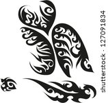 tattoos for arms. | Shutterstock .eps vector #127091834