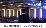 presenter presenting... | Shutterstock . vector #1270950316