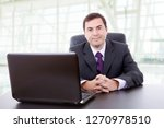 business man working with is...   Shutterstock . vector #1270978510