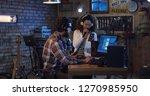 medium shot of young musicians...   Shutterstock . vector #1270985950