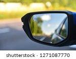 car mirror with blind spot... | Shutterstock . vector #1271087770