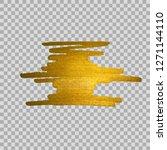 golden grungy stain on... | Shutterstock .eps vector #1271144110