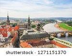 panormaview of dresden  germany | Shutterstock . vector #1271151370
