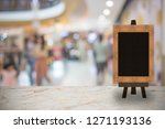 abstract blur image of people... | Shutterstock . vector #1271193136