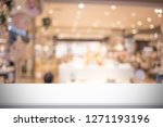 abstract blur image of people... | Shutterstock . vector #1271193196