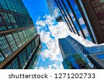 boston downtown financial... | Shutterstock . vector #1271202733