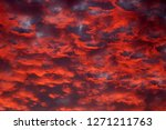 Volcano Red Clouds