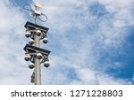 360 Degree Dome Cctv Pole On...