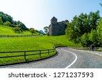 beautiful architecture at vaduz ... | Shutterstock . vector #1271237593