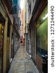 an alley in venice | Shutterstock . vector #1271244490