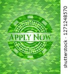 apply now realistic green...   Shutterstock .eps vector #1271248570