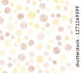 light orange vector seamless... | Shutterstock .eps vector #1271269399