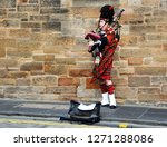 edinburgh  scotland   october ... | Shutterstock . vector #1271288086
