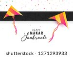 makar sankranti celebration... | Shutterstock .eps vector #1271293933