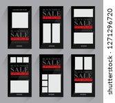 sale promotion banner    Shutterstock .eps vector #1271296720