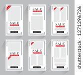 sale promotion banner    Shutterstock .eps vector #1271296726