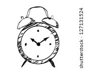 Hand Drawn Clock