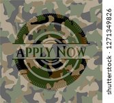 apply now on camouflage pattern   Shutterstock .eps vector #1271349826
