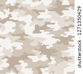 linear camouflage seamless...   Shutterstock .eps vector #1271350429