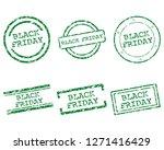 black friday stamps   Shutterstock .eps vector #1271416429
