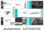 presentation template. 2020.... | Shutterstock .eps vector #1271434153