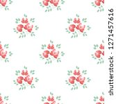 seamless pattern with abstract...   Shutterstock .eps vector #1271457616