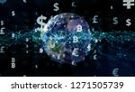 financial technology concept.... | Shutterstock . vector #1271505739