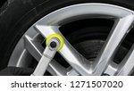 car polish wax worker hands...   Shutterstock . vector #1271507020