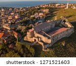 aerial view of the norman...   Shutterstock . vector #1271521603