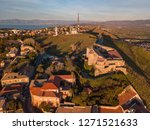 aerial view of the norman...   Shutterstock . vector #1271521633