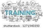 flat colorful design concept... | Shutterstock .eps vector #1271540350