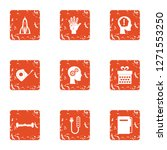 future strategy icons set.... | Shutterstock . vector #1271553250
