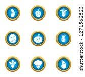 garnish icons set. flat set of...   Shutterstock . vector #1271562523