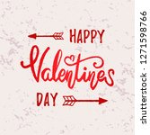 hand drawn typography lettering ... | Shutterstock .eps vector #1271598766