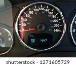a car dashboard with...   Shutterstock . vector #1271605729