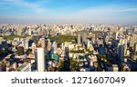 aerial view panorama cityscape...   Shutterstock . vector #1271607049